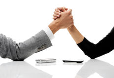 Business conflict concept Stock Photo