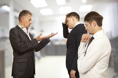 Business conflict concept Royalty Free Stock Images