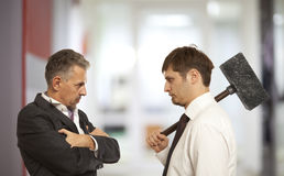 Business conflict concept Royalty Free Stock Photography