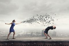 Business conflict Royalty Free Stock Photography