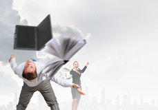 Business conflict Royalty Free Stock Photos
