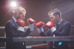 Business confrontation Stock Image