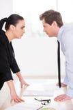 Business confrontation. Stock Photos