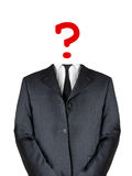 Business confusion Royalty Free Stock Photo