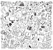 Business Consept Doodles Vector Illustration Royalty Free Stock Photo