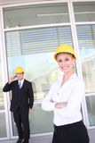 Business Construction Team Stock Photography
