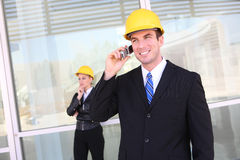 Business Construction Team Royalty Free Stock Images
