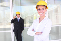 Business Construction Team Stock Image