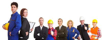 Business and construction team Stock Photos