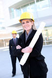 Business Construction Woman Royalty Free Stock Image