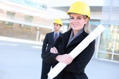 Business Construction Woman Stock Photos