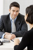 Business consultant Stock Photo