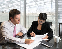 Business Consultation Stock Image