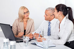 Business Consultation Royalty Free Stock Photos