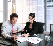 Business Consultation Royalty Free Stock Photography