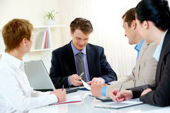 Business consulting Royalty Free Stock Image