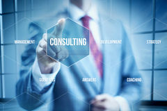 Business Consulting Royalty Free Stock Photos