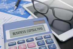 BUSINESS CONSULTING CONCEPT Stock Images