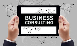 BUSINESS CONSULTING CONCEPT Stock Image
