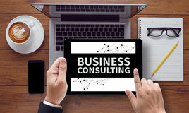 BUSINESS CONSULTING CONCEPT Stock Photos