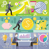 Business Consulting Investment Royalty Free Stock Images