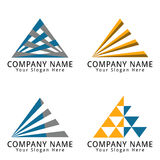 Business and Consulting Logo Triangle / Letter A Concept Concept  Royalty Free Stock Photo