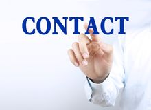 Business contact Stock Photo