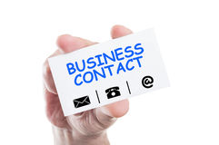 Business contact Royalty Free Stock Images