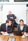 Business contempt royalty free stock photos