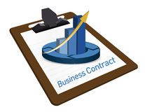 Business Contract documentation Royalty Free Stock Photography