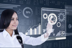 Business controling concept Stock Images