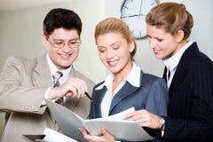 Business conversation Royalty Free Stock Photos
