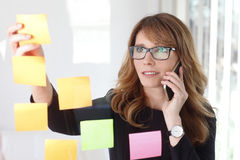 Business conversation at office Stock Photography