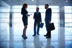 Business conversation Royalty Free Stock Image