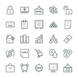 Business Cool Vector Icons 5 Royalty Free Stock Photo
