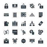 Business Cool Vector Icons 5 Royalty Free Stock Photos