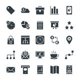 Business Cool Vector Icons 2 Royalty Free Stock Photo