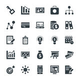 Business Cool Vector Icons 4 Royalty Free Stock Images