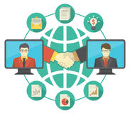 Business Cooperation Concept Royalty Free Stock Image