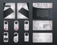 Business corporate branding identity set. Brochure Stock Photography