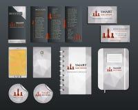 Business corporate branding identity set. Brochure Royalty Free Stock Image