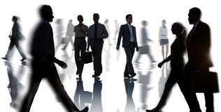 Business Corporate Commuter Travel White Collar Worker Concept Stock Photography