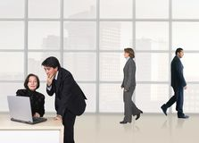 Business corporate environment Stock Photo