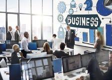 Business Corporate Organization Management Development Concept.  Stock Photos
