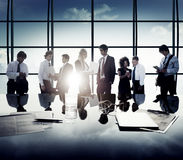 Business Corporate People Digital Communication Discussion Conce Royalty Free Stock Photos