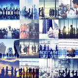 Business Corporate Team Collaboration Success Start Concept.  stock image