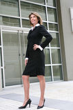 Business, Corporate Woman Outdoors Stock Photo