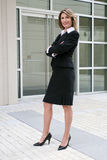 Business, Corporate Woman Outdoors Stock Photography
