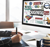 Business Corporation Analysis Strategy Corporate Concept.  Stock Photography