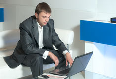 Business correspondence Stock Photos